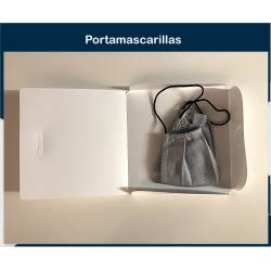 PORTAMASCARILLAS PLÁSTICO...